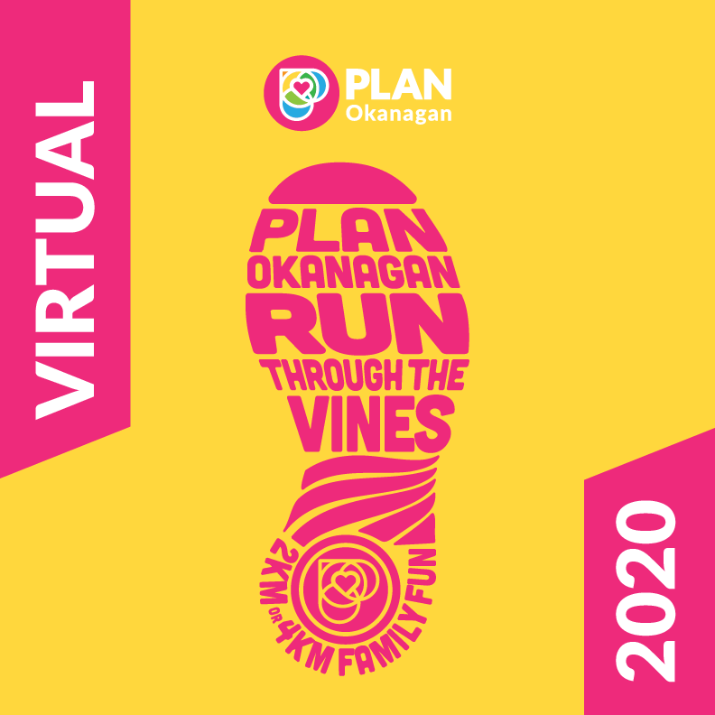 Virtual Run Through the Vines graphic